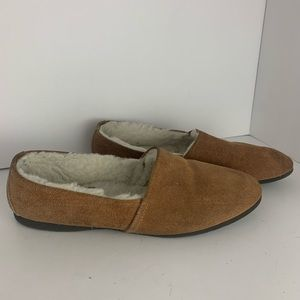 L.B Evans Leather Slippers 6/7